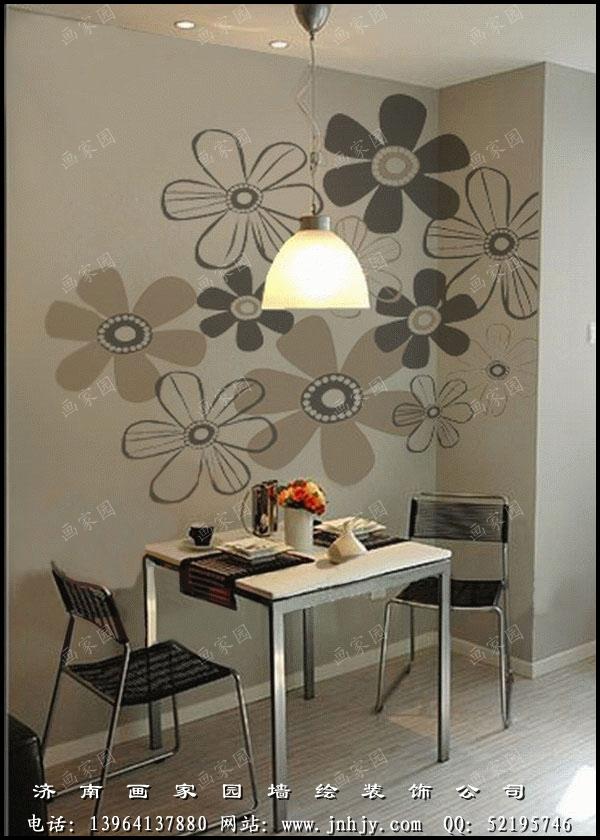一直致力于手绘墙的艺术装饰与设计,专门从事餐厅墙绘,儿童房设计绘画