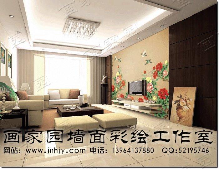 客厅影视墙设计图