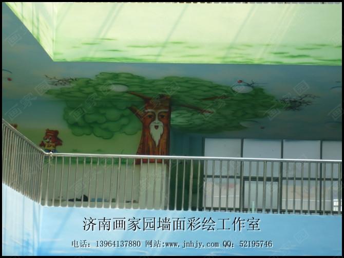 幼儿园手绘墙