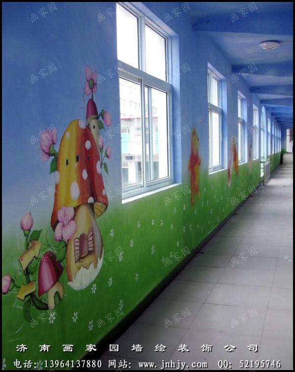 幼儿园手绘墙图片