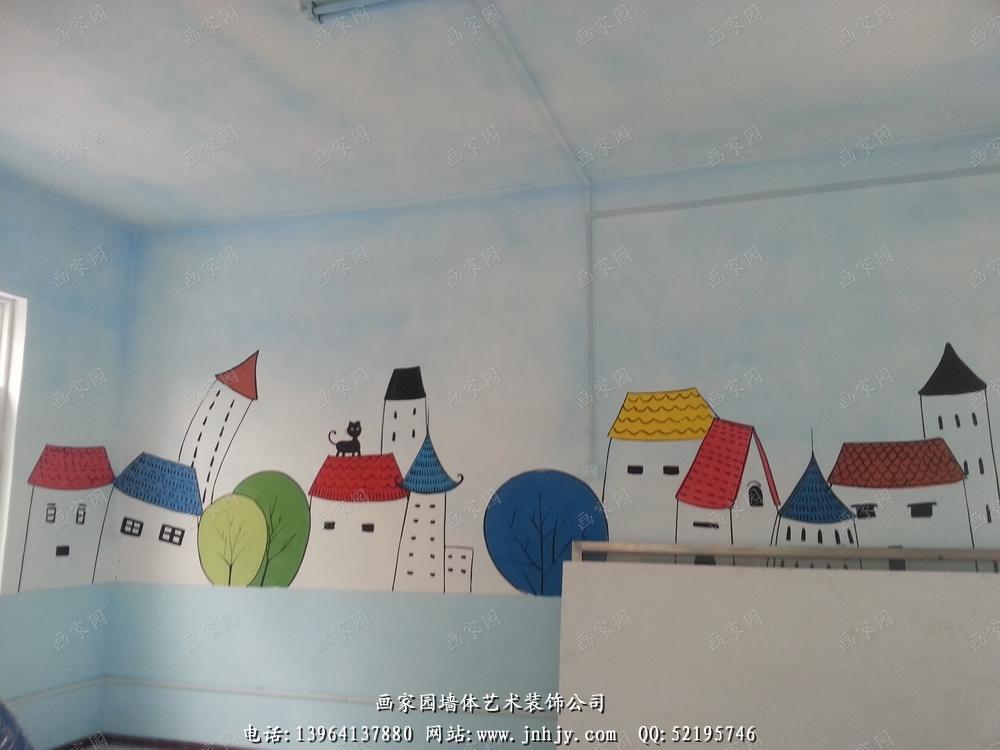 幼儿园彩绘_幼儿园壁画_幼儿园墙体彩绘_幼儿园手绘墙-山东画家园彩绘