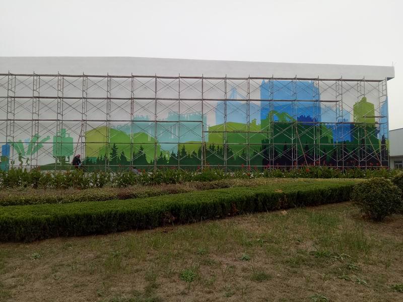 禹城保龄宝科技文化墙