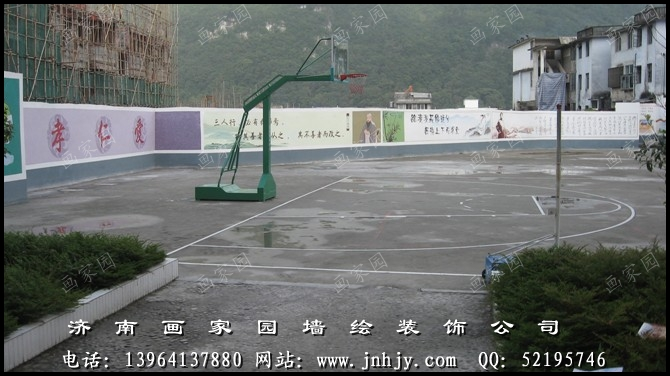 广东深圳校园文化墙手绘|深圳校园墙绘|深圳校园墙体彩绘|杭州学校